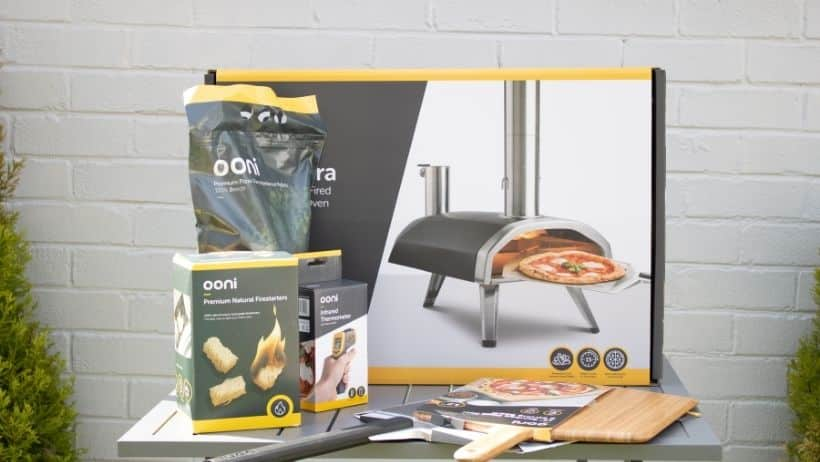 Image showing what I received from my Ooni Fyra pizza Oven order