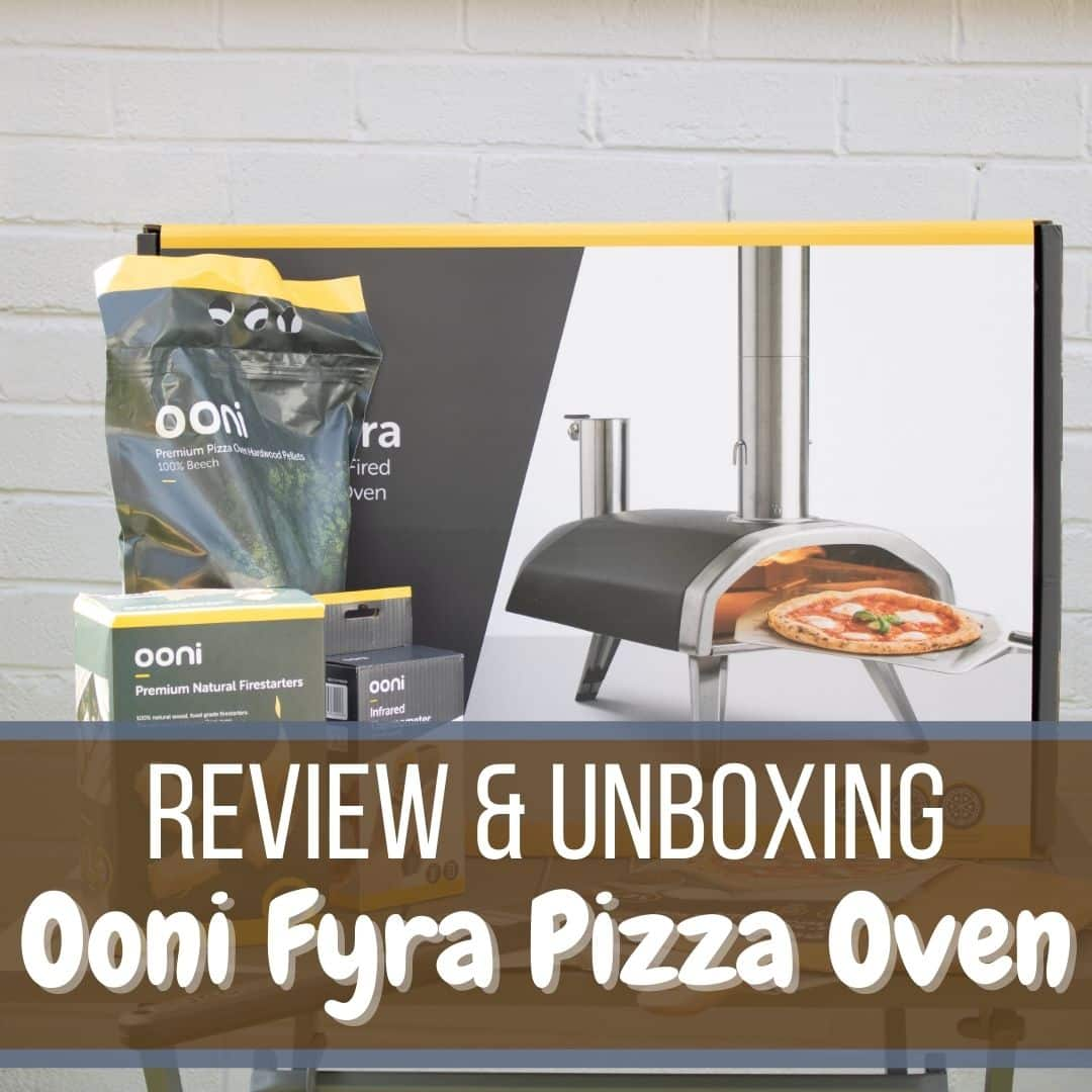 Ooni Fyra Wood burning Pizza Oven Review