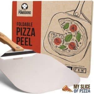 Chef Pomodoro Aluminum Metal Pizza Peel