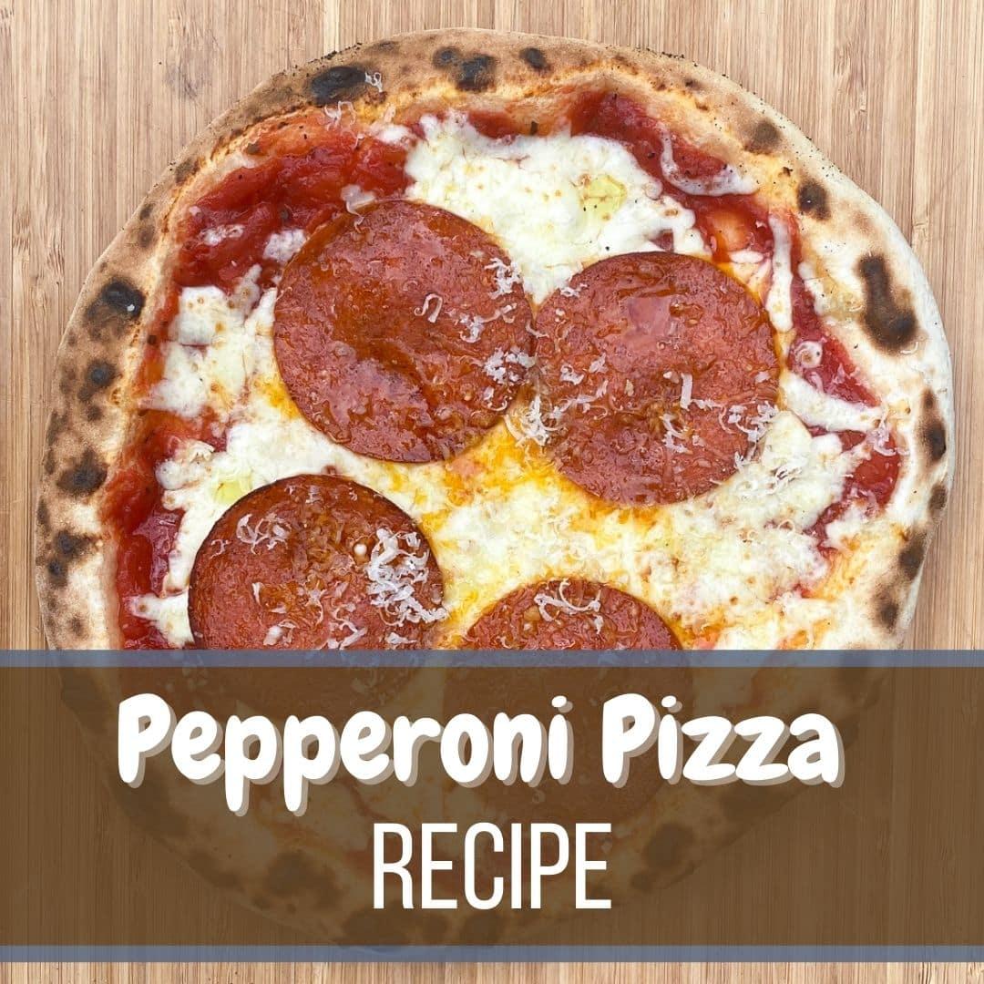 Homemade Pepperoni Pizza Recipe 1