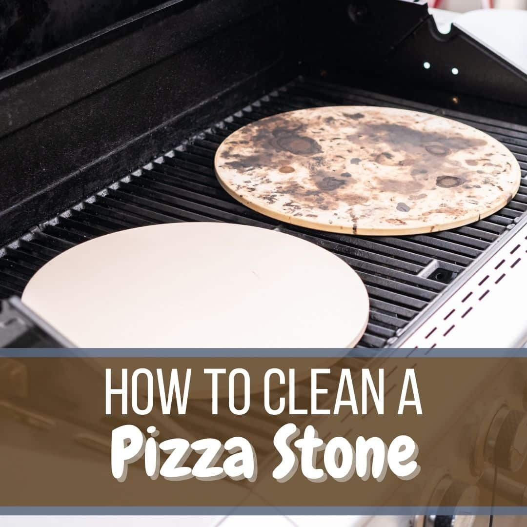 Finding out how to clean a pizza stone