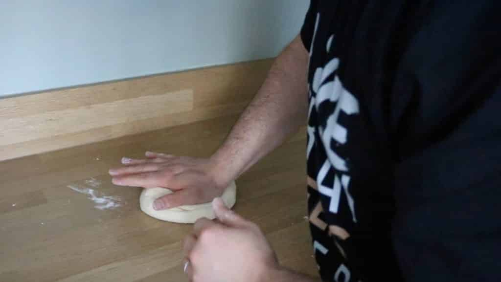 How To Knead Pizza Dough By Hand